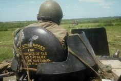 """""""Standing Order for Troopers of the [11th] US Cavalry: Find the Bastards Then Pile On""""Col. George S. Patton's motto for the US Army 11th Armored Cavalry Regiment which he commanded from 1968-1969."""