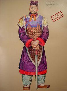 Qin Dynasty warrior (BCE 221 - BCE 206)