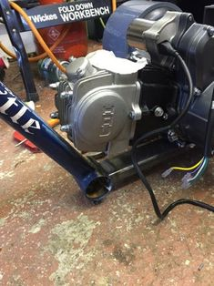 Motorised Drift Trike: 14 Steps (with Pictures) Drift Trike Motorized, Build A Go Kart, Reverse Trike, Mini Bike, Cars And Motorcycles, Outdoor Power Equipment, Projects To Try, Pictures, Bar Stools