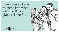 I think everyone at work is thinking the same thing lol Medical Humor, Nurse Humor, Ems Humor, Someecards Workplace, Feed A Cold, Lol, Pet Peeves, Get Well Cards, Work Humor