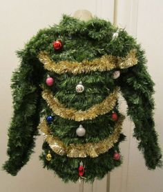 This really is the ugliest Christmas sweater!