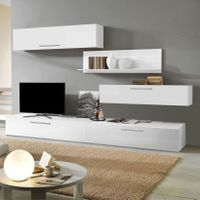 Living Viena Alb Floating Nightstand, Living, Table, House, Furniture, Tv, Design, Home Decor, Vienna
