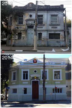 Rua Ribeiro de Lima - Depois de anos de abandono o imóvel construído em1929 foi restaurado pelo governo estadual.