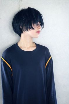 Beautiful Teen With Short Hairstyle That Can To Try 45 Belle adolescente avec une coiffure courte qui peut essayer 45 Girl Short Hair, Short Hair Cuts, Hair Inspo, Hair Inspiration, New Hair, Your Hair, Shot Hair Styles, Hair Reference, Grunge Hair