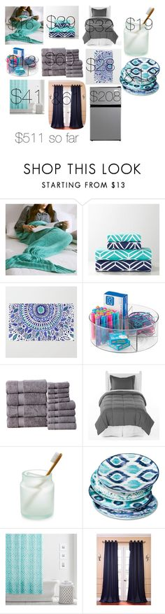 """""""Dorm room inspiration"""" by a-pretty-little-fashionista ❤ liked on Polyvore featuring interior, interiors, interior design, home, home decor, interior decorating, PBteen, Affinity Linens, Martha Stewart and Mudhut"""