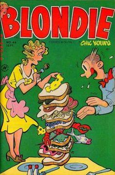 Blondie-comics-monthly