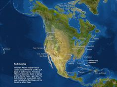 This is what North America will look like when all of the ice melts