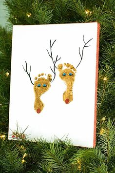 Christmas craft for kids - soo need to do this with all 3 little ones this year!