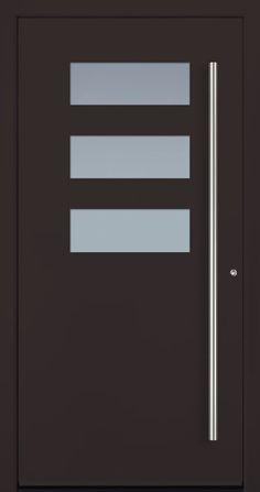 Modern Entry Doors - Modern Entry Door Modern Entry Door, Modern Exterior Doors, Entry Doors, Modern Windows And Doors, Modern Driveway, Iron Doors, Wooden Doors, Door Design, Ceiling Fan