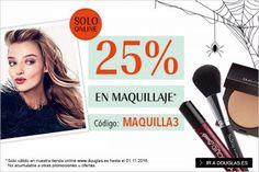 25% de descuento en maquillaje en Douglas