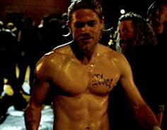 Pin for Later: The Hands-Down Hottest Jax Teller Moments on Sons of Anarchy He looks unbearably hot postfight . . .