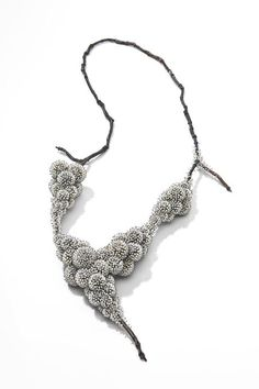 """Frozen"" Necklace - contemporary jewellery designs from nature; organic form and the elements // Sam Tho Duong"