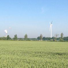 """Foutje :-( De skyline vd buren, dorpje #Lathum! """"@FrankAMBolder: De nieuwe skyline van Duiven, sinds gistermiddag. #Zevenaar. Zaterdag 7 juni 2014. Via twitter @Anja van"""
