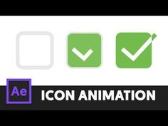 T065 Animated Check Box Icon Animation (After Effects CC)