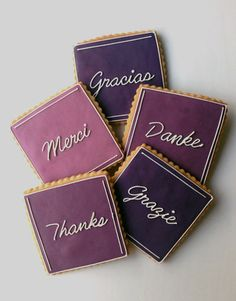 World of Thanks Gift Box- simple but pretty