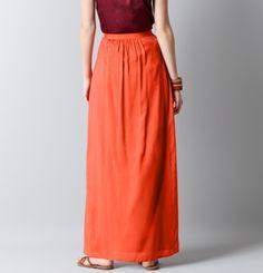 Loft - LOFT Skirts - Pintucked Maxi Skirt