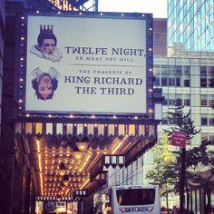 Shakespeare on Broadway: Twelfth Night and Richard III (Nov 10, 2013 - Feb 16, 2014)