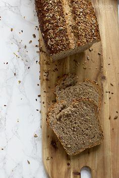 Pan rústico de semillas
