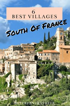 Best Villages to Visit in the South of France Planning a vacation to France? Want to head to the sunshine coast of the South of France? Here are the best hidden villages in the South of France that you should visit. Europe Travel Guide, Europe Destinations, Travel Guides, Honeymoon Destinations, Travel Abroad, Budget Travel, Paris Travel, France Travel, France Map