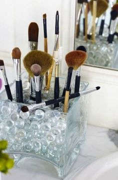 Creative Cosmetic Organization Solutions | Martha Lynn Kale for Camille Styles