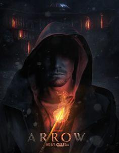 Arrow by Damian Wayne Arrow Tv Series, Cw Series, Arrow Cw, Team Arrow, Oliver Queen Arrow, Dc Comics, The Spectre, Stephen Amell Arrow, Dc World