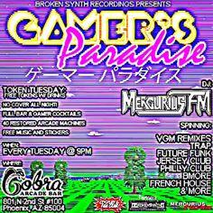 gamersparadiseparty:  Tuesday at @cobraarcadebar! No cover free arcade play video game remixes and underground EDM. - - #gaming #videogames #edm #gamers #arcade #music #pixelart #vaporwave #trap #aesthetics #pixel #vgm #chiptunes #retrogaming #phx #phoenix #az #arizona http://ift.tt/28K0xk5  TONIGHT! CANT WAIT!  cobra arcade bar gamer's paradise gamer geek nerd otaku phoenix arizona phoenix arizona phx az downtown bar barcade arcade gaming video games space harrier #anime #cosplay #costume…