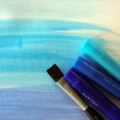 Gelatos Art How-To For Watercolor Looks | Michelle Houghton | Get It Scrapped