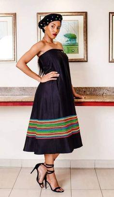 Xhosa Attire, African Attire, African Wear, African Dress, Zulu Traditional Attire, African Fashion Traditional, Traditional Outfits, African Party Dresses, African Wedding Dress