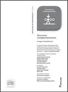 Colegio José Calderón: Recursos complementarios 4º E. primaria Proyecto Saber…