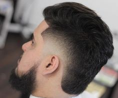Haircuts 100 Amazing Fade Haircut For Men - [Nice 2019 Looks] Fohawk Haircut Fade, Temp Fade Haircut, Comb Over Haircut, Mullet Haircut, Mullet Hairstyle, Haircut Men, Best Fade Haircuts, Haircuts For Long Hair, Haircuts For Men