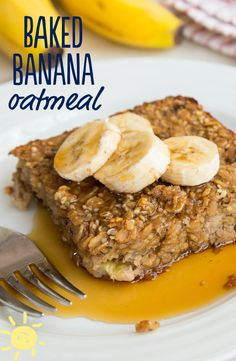 Baked oatmeal can be assembled and even baked ahead of time to make a healthy, hearty breakfast a snap. And best of all, even my pickiest eater LOVES it! Move over cereal, there's a new favorite in town.