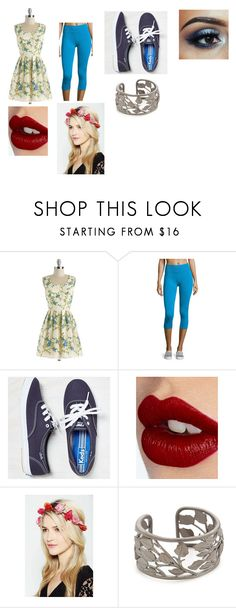 """""""My avengers OC normal clothing"""" by thetruemagic ❤ liked on Polyvore featuring Chi Chi, Yummie Tummie, Keds, Charlotte Tilbury and Jamie Wolf"""