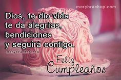 saludo cristiano para mi hija por cumpleaños Birthday Wishes, Amor, Birthday Msgs, Special Birthday Wishes, Birthday Greetings, Birthday Favors