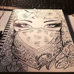 Drawing Cool Artsy 59 Ideas For 2019 Cute Drawings, Tattoo Drawings, Drawing Sketches, Pencil Drawings, Badass Drawings, Tattoo Sketches, Sketching, Dope Art, Painting & Drawing