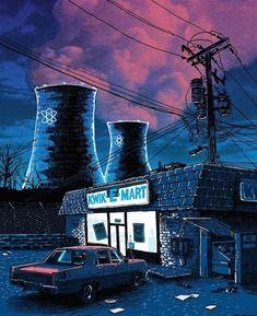 Tim Doyle recrea algunos de los espacios más emblemáticos de Springfield en dibujos lúgubres. Aunque no es el lugar más hermoso para vivir, Springfield, la ciudad en la que viven los Simpsons, siempre ha parecido tranquila pero con estas ilustraciones de laserie UnReal Estate, de Tim Doyle,ya no te dan ganas de echarte una cerveza […]