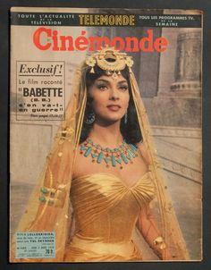 Cinemonde magazine, March 1959 (Gina Lollobrigida)