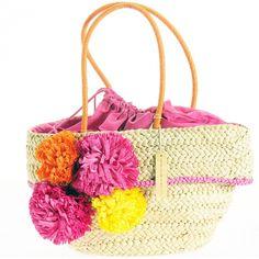 Veselá dámská taška na jaro ukryje vaše tajnosti a v létě poslouží jako plážová! Straw Bag, Spring, Bags, Fashion, Luxury, Handbags, Moda, Fashion Styles, Taschen