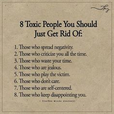 Inspirational Positive Quotes 8 Toxic People You Should Just Get Rid Of ift tt QuotesViral net: QuotesViral, Number One Source For daily Quotes. Leading Quotes Magazine & Database, Featuring best quotes from around the world. Wisdom Quotes, True Quotes, Quotes To Live By, Hustle Quotes, Funny Quotes, Drama Free Quotes, Daily Quotes, True Colors Quotes, Toxic People