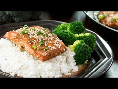 Baked Sesame Salmon :: Home Cooking Adventure