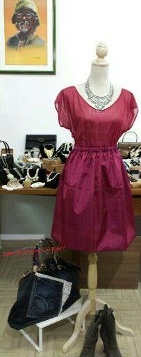 Abbigliamento creazioni artigianali che bello rosso