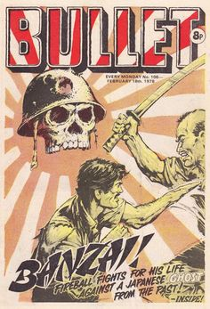 Bullet #106 (Issue) Vintage Comic Books, Vintage Comics, Comic Covers, Bullet, Japanese, Art, Art Background, Japanese Language, Kunst