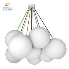 Luz Led, Ceiling Lights, Lighting, Home Decor, Ceiling Light Fixtures, Pendant Chandelier, Clouds, Decoration Home, Light Fixtures