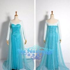 FROZEN QUEEN ELSA COSTUME - ADULT