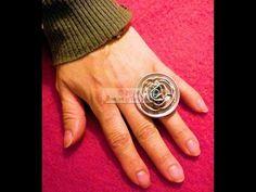 ▶ DIY Cómo hacer un anillo de cápsulas de café - YouTube