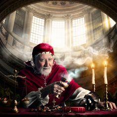 The Royal Dozen. Pope Alexander VI – The Borgia Pope (1431 –1503) Photographer: Alexia Sinclair