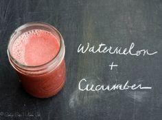 Watermelon and Cucumber Juice Recipe | Umami Girl