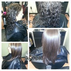 Highlights & lowlights with a Keratin treatment by myself, Rebecca Gonzalez @ Simply Chic Beauty Salon