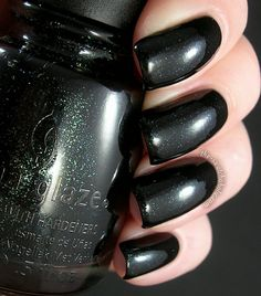 China Glaze - Smoke and Ashes from Capitol Colours (The Hunger Games): Swatches, Photos and Review