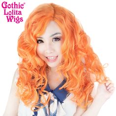 """Lace Front 22"""" Cosplay - Pumpkin Mix -00257"""
