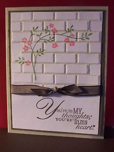 images darice  brick embossing folder | darice embossing folder brick wall great for all occasion cards ...